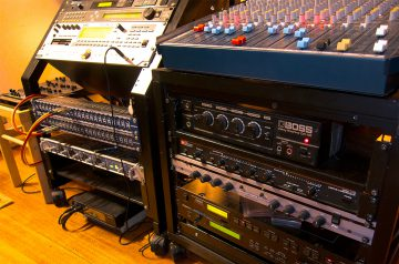 A range of outboard effects